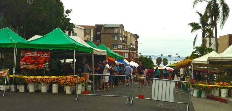 Markets-San Diego Farmer's market