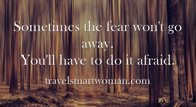 Quote-Don't be scared..