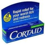 OTC Medications to pack include cortisone cream.