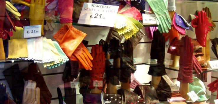 Window shopping: leather gloves