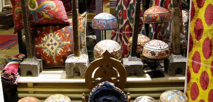 Window shopping: Istanbul fabrics and carpets