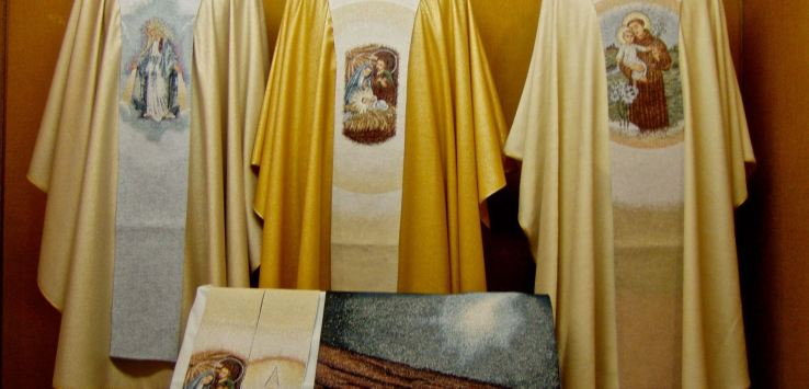 Window shopping: Priests can celebrate mass with fancy robes