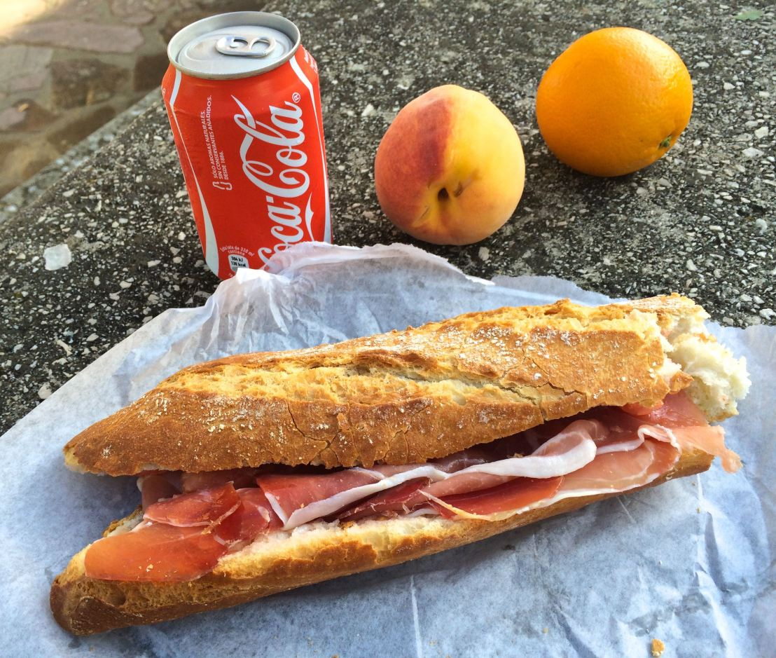 Camino Lessons-Food and Water