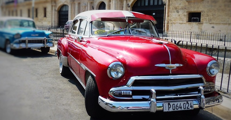 Cuba Travel Update-June 2017: Most people first think of the cars when they consider a trip to Cuba. But parts are hard to come by these days. (Photo credit: Pixabay CC0 by PeterKraayvanger)