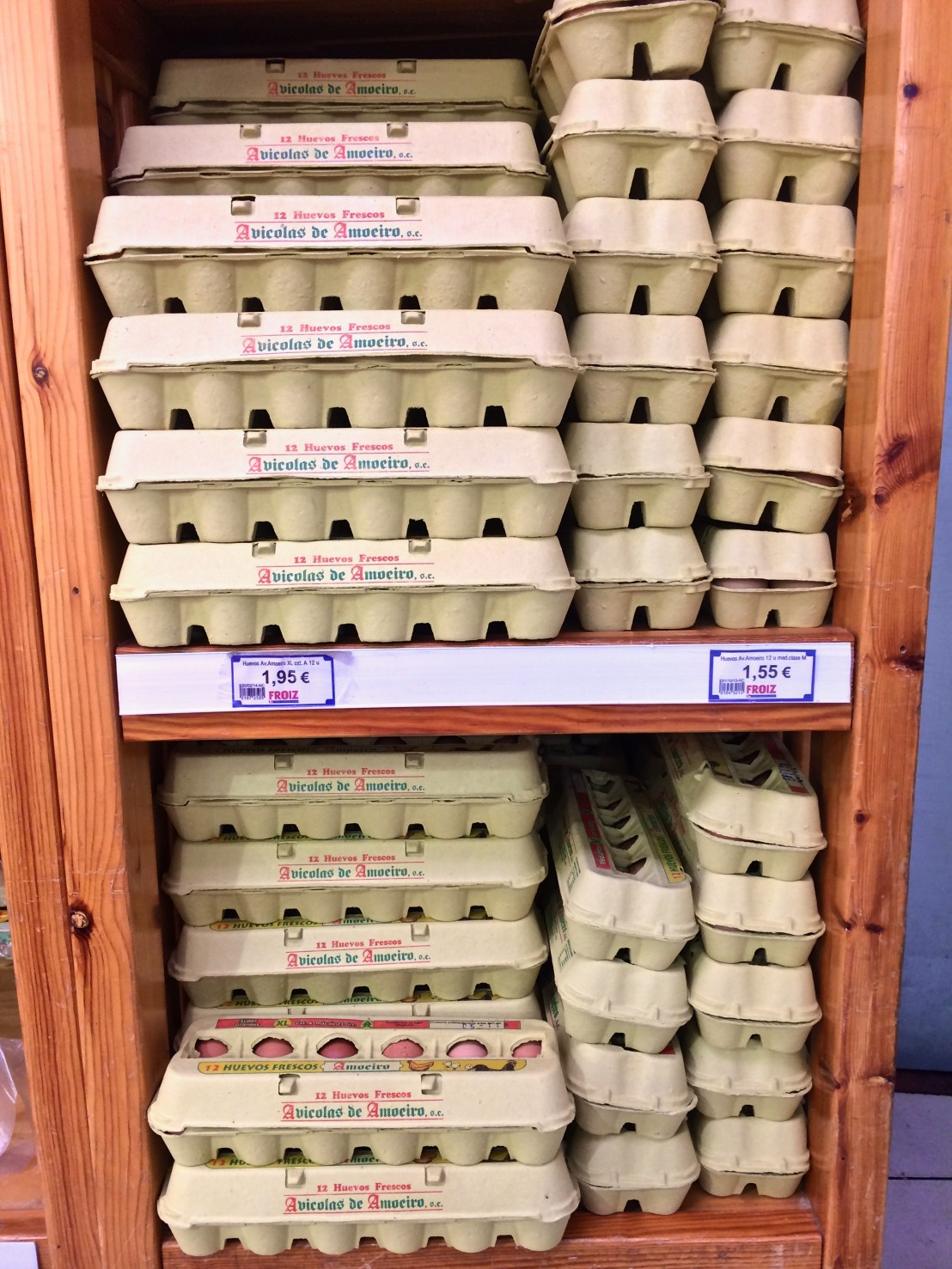 Europe grocery stores-eggs