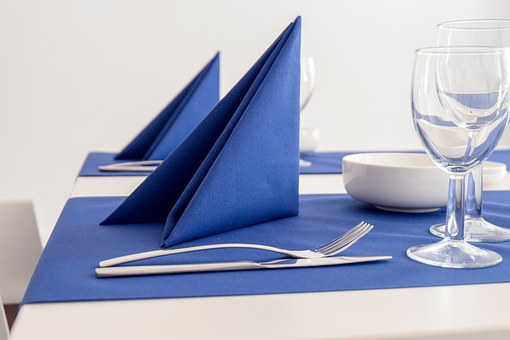 Napkin--Fancy fold