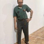 "Milwaukee Art Museum: ""The Janitor"" surprises nearly every visitor, and even staff. Created in 1973 by Duane Hanson, an American artist. (1925-1996) (Photo credit: Suzanne Ball. All rights reserved.)"
