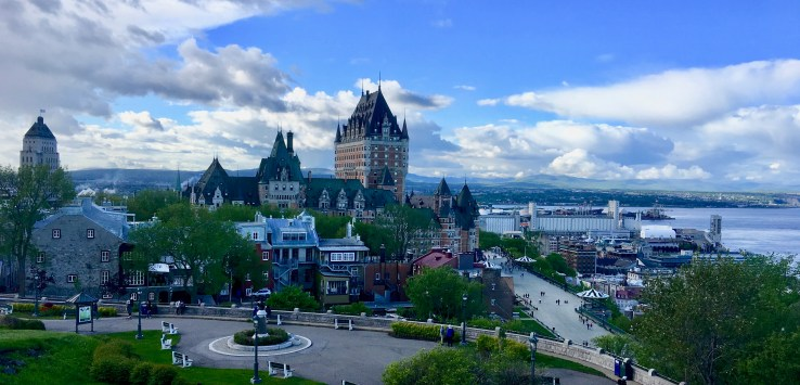 Quebec City: The view from La Citadelle is astonishing. Don't pass it up! (Photo by Suzanne Ball. All rights reserved.)