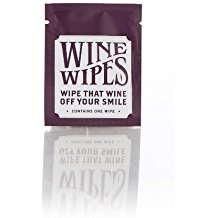 Gifts for international travelers: Wine Wipes keep your teeth white while you sip your way around the world...