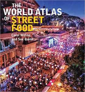 Gifts for international travelers: Who wouldn't want this World Atlas of Street Food?!? The travelers and foodies on you list will thank you again and again.