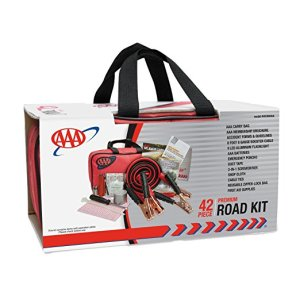 Gifts for Road Trips: Not the most glamorous, but maybe the most important. Show them that you care about their safety with a roadside emergency kit.