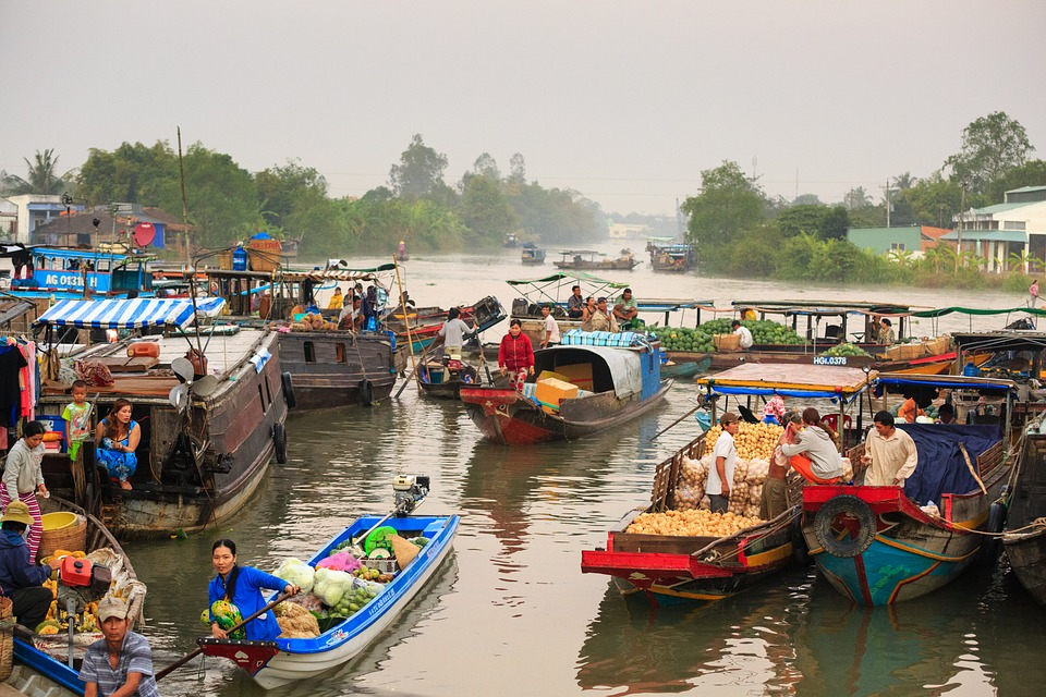 Where to go in 2018: Vietnam's Mekong River offers stunning sights and historic venues. The years have healed the wounds from the Vietnam War.