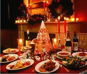 The city at Christmas: Treat yourself and those you love to a Reveillon Dinner in New Orleans. A 19th-century Creole tradition, over fifty restaurants offer the feast. (Photo credit: americanfoodroots.com)
