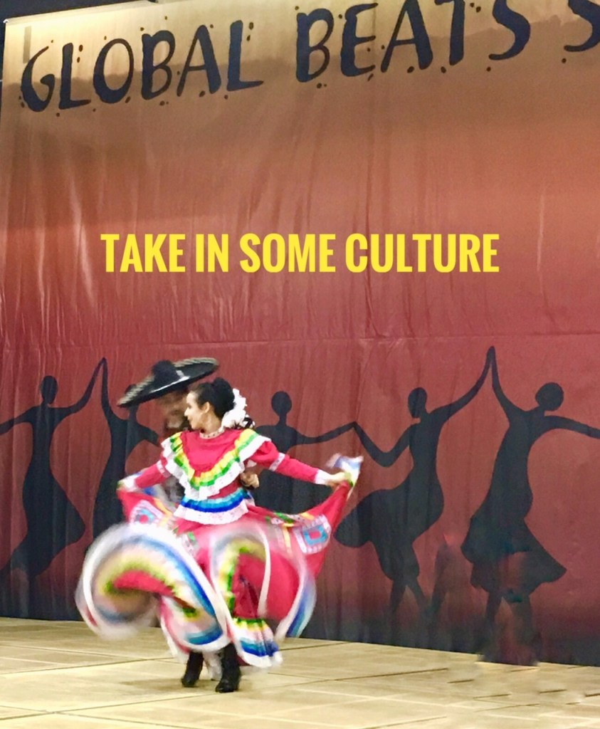 Travel show tips: Sit awhile and enjoy performances on the Global Beat Stage.