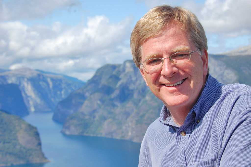 "Travel tips from Experts: Rick Steves is a travel icon. HIs Europe Through the Back Door company takes 25,000 happy people to 40 European destinations every year. Watch his ""Rick Steves' Europe""series on PBS."