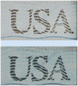 "Your U.S. passport has green-to-gold ink in the ""USA"" printed on the lower right corner of the biodata page. (Photo: State Department website)"