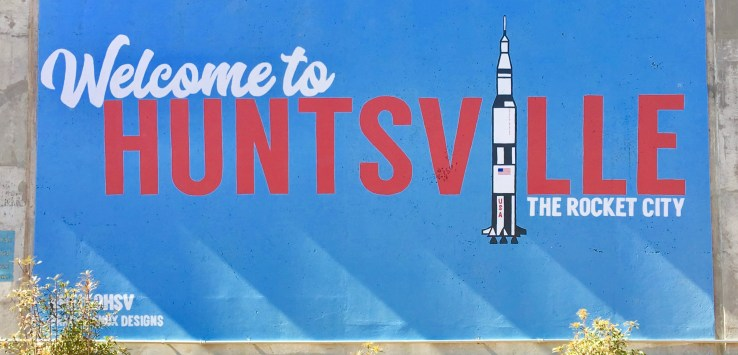 Huntsville, Alabama is SO much more than rockets! (Photo credit: Suzanne Ball. All rights reserved.)