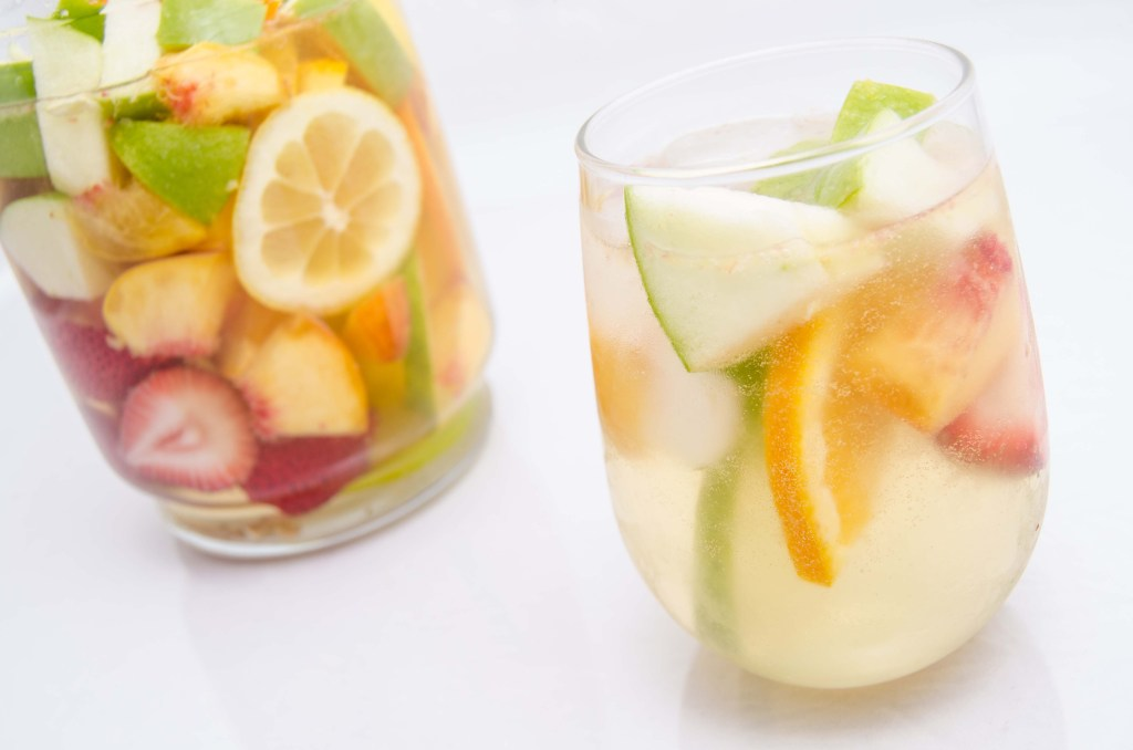 Sangria is versatile...make it the way you want.