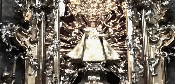 Infant Jesus of Prague has a long and fascinating history.
