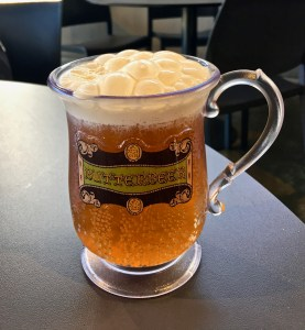 Butterbeer! Need I say more?