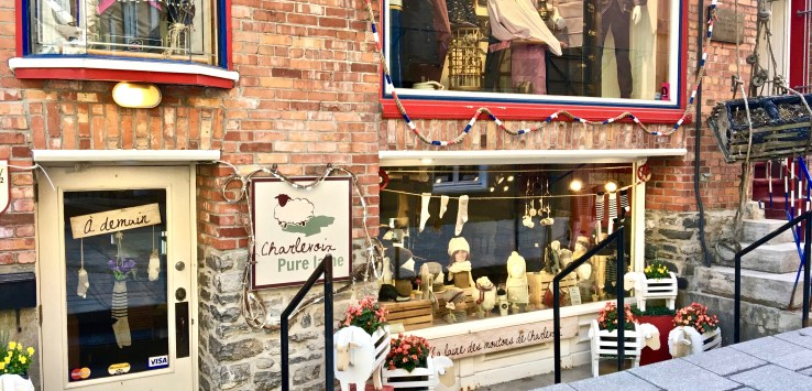 Petit Champlain is a thriving neighborhood of shops, galleries, and restaurants.