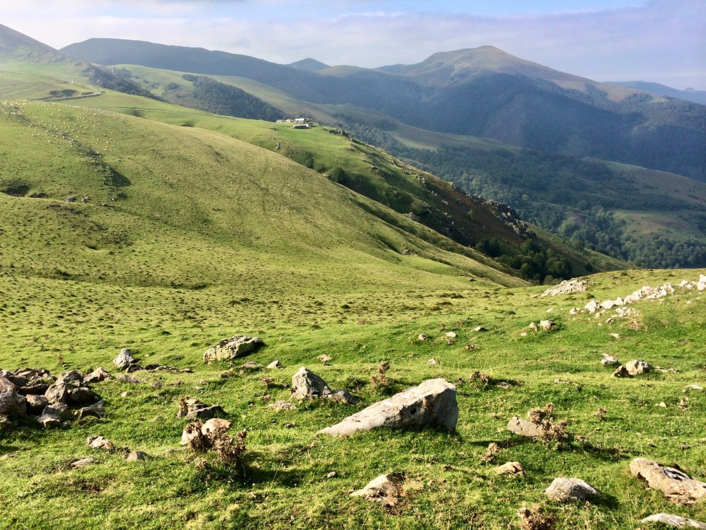 On your first day, you get to cross the Pyrenees Mountains! Talk about a work-out! But the view is spectacular--be sure to stop and admire it, while you catch your breath.