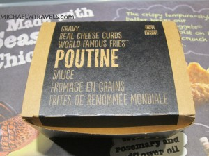 Poutine made with McD's fries!