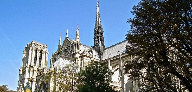 Notre Dame Cathedral has more meaning to the French than the Eiffel Tower.