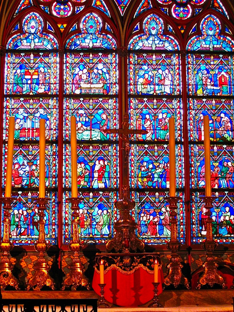Imagine being a peasant 800 years ago, entering Notre Dame Cathedral. The beauty in every detail must have been beyond anything ever seen before.