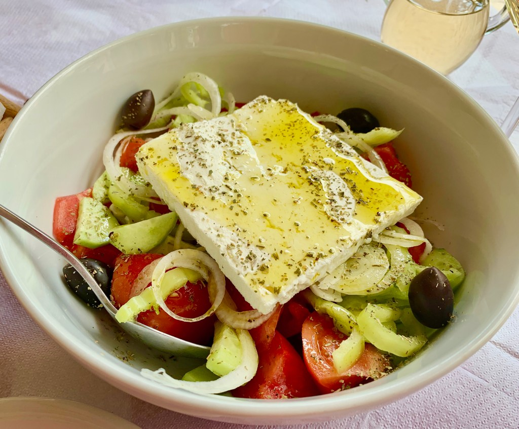 TravelSmart Woman's Best Posts of 2019: Greek Salad