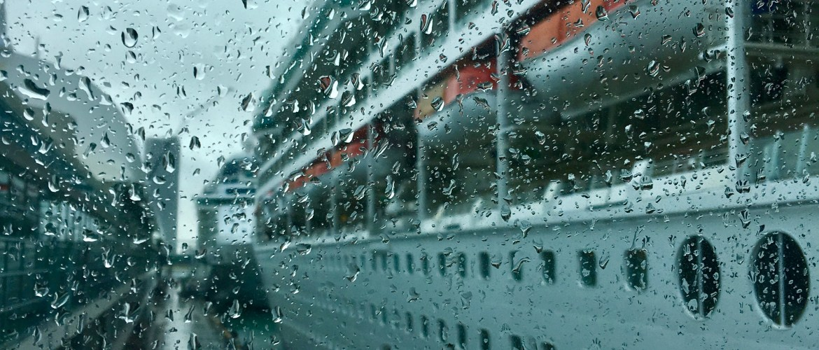 Rain and storms on your cruise? Don't let seasickness ruin the voyage!