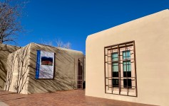 Georgia O'Keeffe Museum in Santa Fe, NM, walks you through the artist's life.
