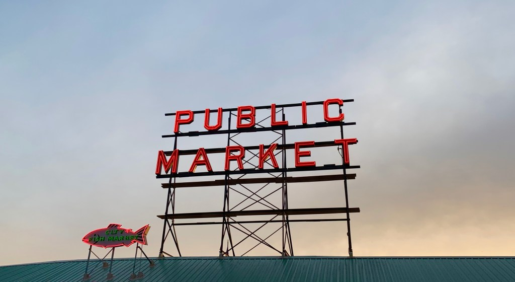 Seattle's Pike Place Market is the oldest continuous farmer's market in the country--since 1907!