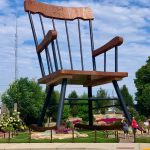 The World's Largest Rocking Chair in Casey, Illinois.