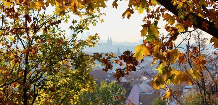 Prague in the Autumn