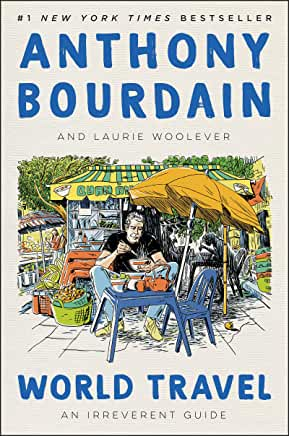 """Picture of cover of Anthony Bourdain's """"World Travel"""""""