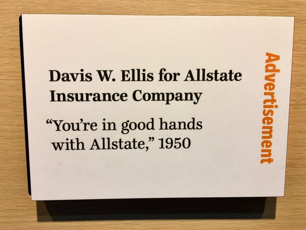 American Writers Museum-Ad copy for Allstate