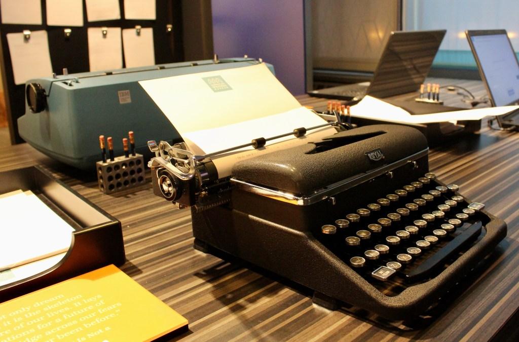 American Writers Museum-Typewriters