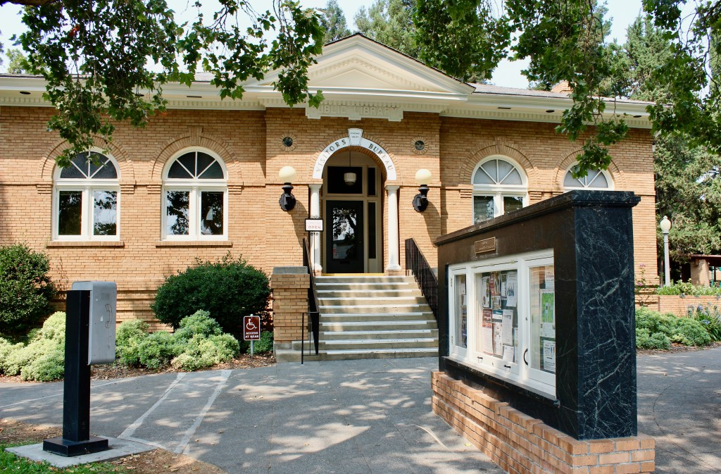 Sonoma Plaza has a former Carnegie Library for its Visitors Bureau