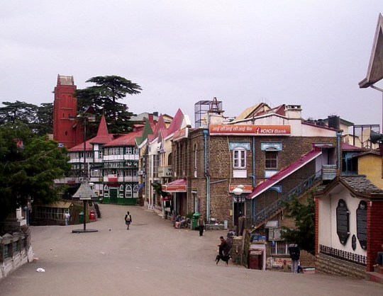 File:Shimla scandal point.jpg
