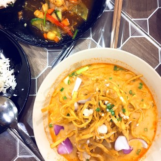 The most delicious Khao Soi in Chiangmai