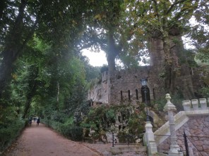 One of many footpaths in Quinta da Regaleira