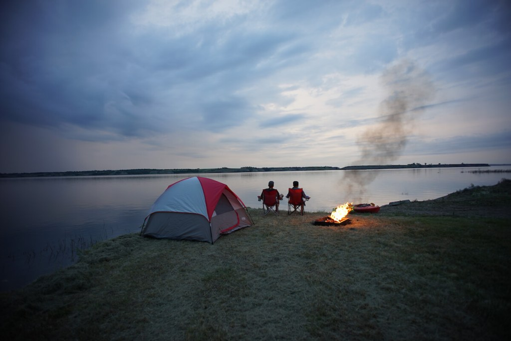 Devils Lake ND camping