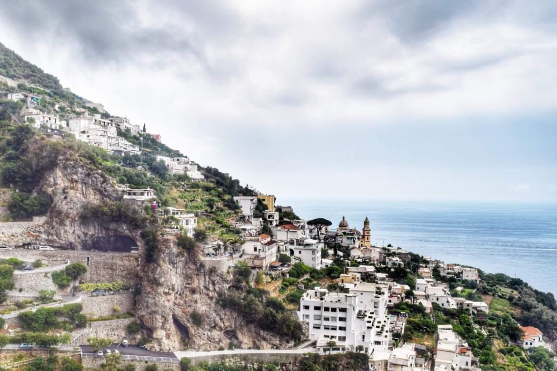 Praiano, Italy on the Amalfi Coast