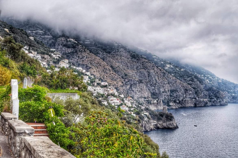 View approaching Amalfi, Italy