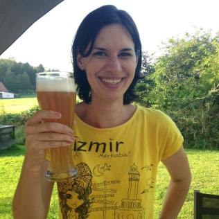 My first beer in Bavaria!