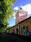 Clock tower at Suomenlinna Entrance