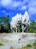 Passio Musicae a monument erected in Helsinki for the Composer Sibelius.