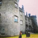 Sarah infront of Kilkenny Castle