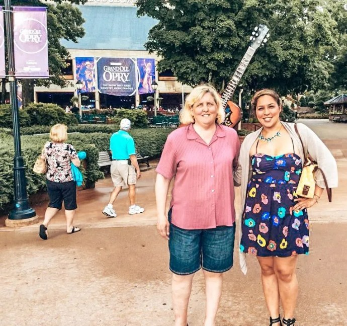 Grand Ole Opry June 2014 with my mom in Nashville, TN.